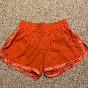 Gently worn Under Armour running shorts